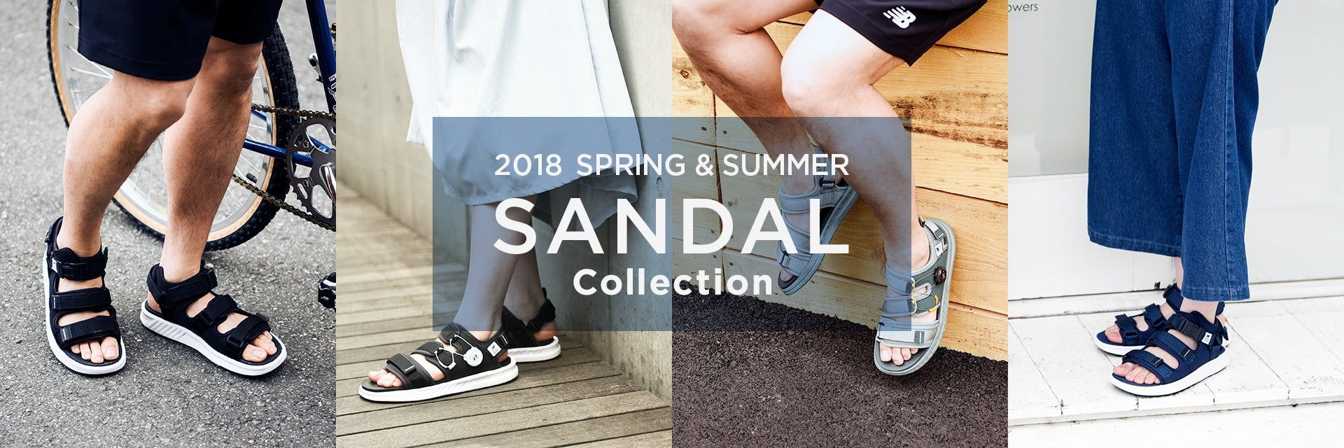 2018 SPRING&SUMMER SANDAL Collection