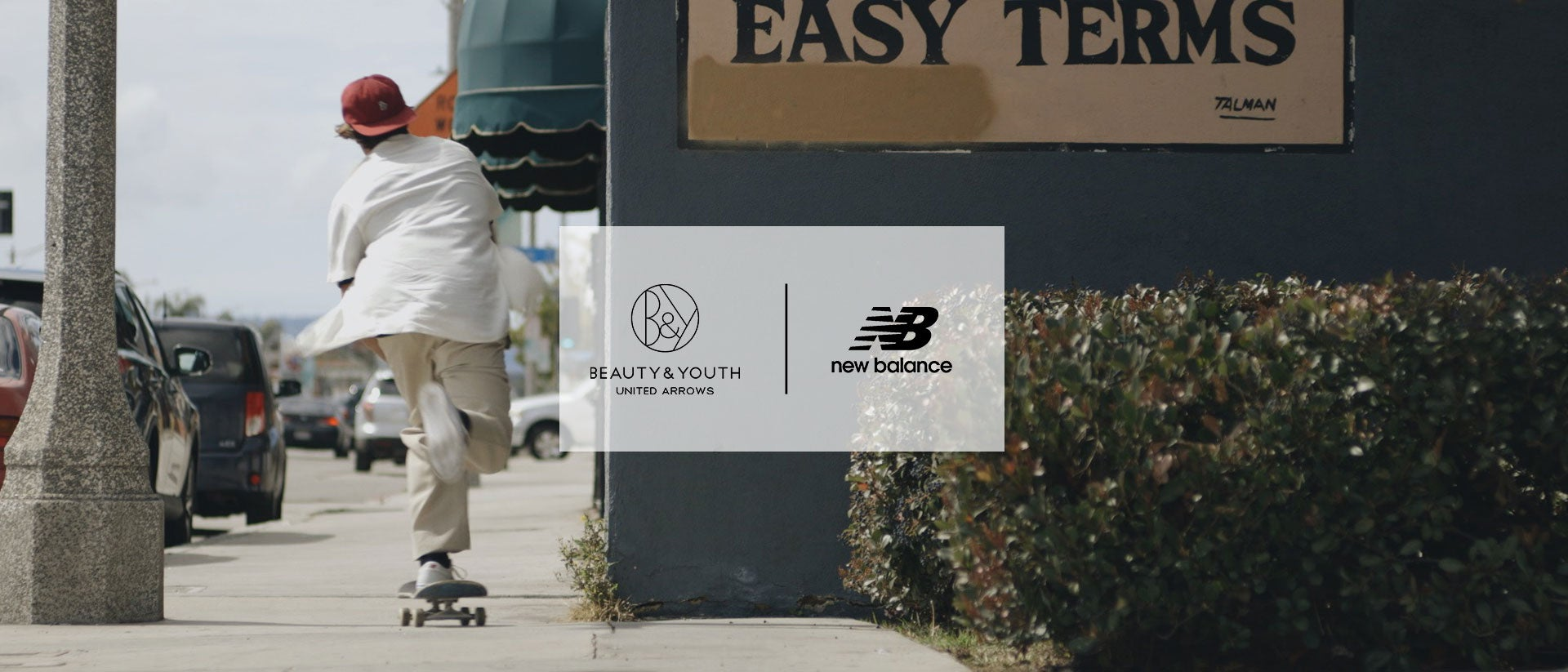 Beauty & Youth × NB 「SKATE STYLE」