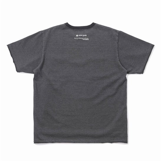 Snow Peak×TDS Garment Dye Heavy Weight Dry T-shirt