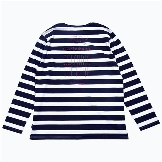 REVEAL LONG SLEEVE STRIPE T-SHIRT