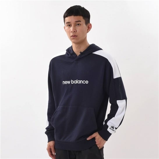 (NB公式)【30%OFF】(ログイン購入で最大8%ポイント還元) ユニセックス NB Athletics スウェットフーディ (ブルー) ライフスタイル ウェア / トップス ニューバランス newbalance セール