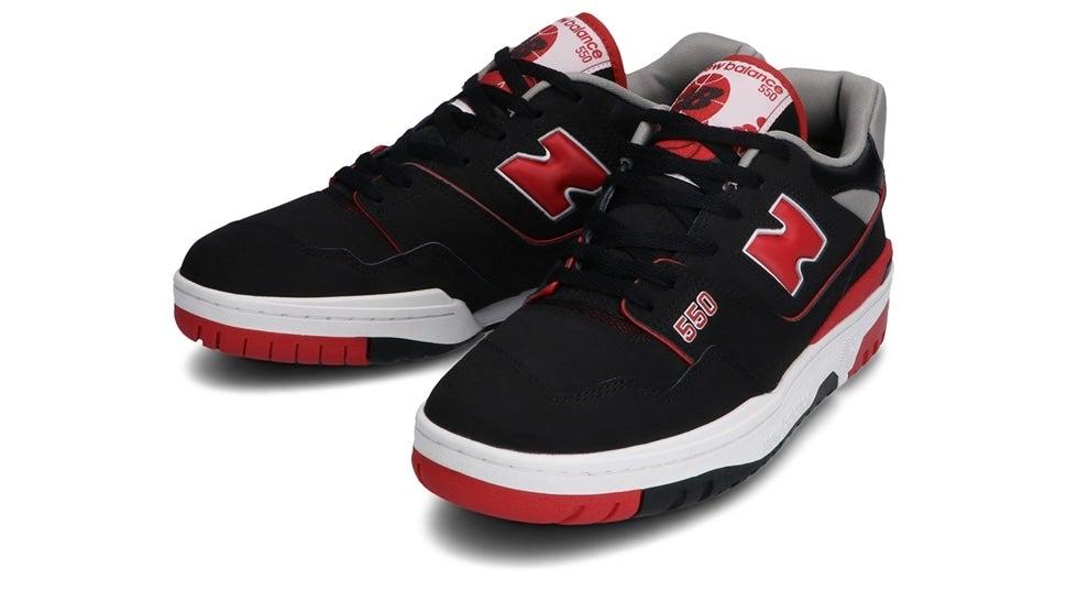 (NB公式)【ログイン購入で最大8%ポイント還元】 メンズ BB550 SG1 (ブラック) スニーカー シューズ 靴 ニューバランス newbalance