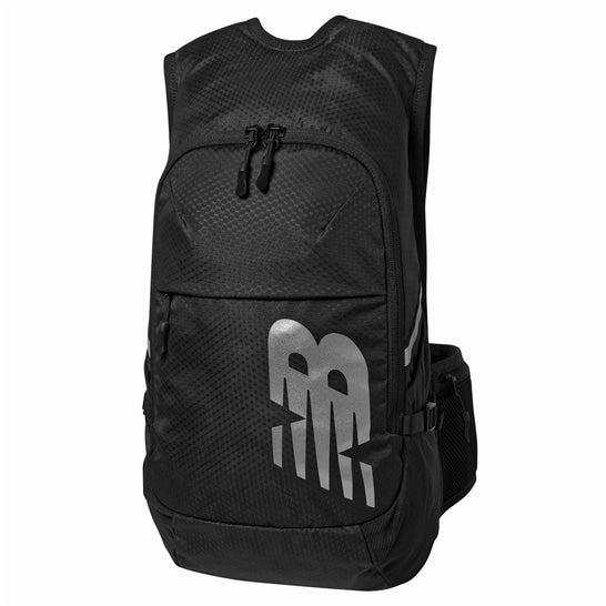 (NB公式)【ログイン購入で最大8%ポイント還元】 ユニセックス ランニングバックパック 15リットル (ブラック) バッグ 鞄 リュックサック/デイパック ニューバランス newbalance