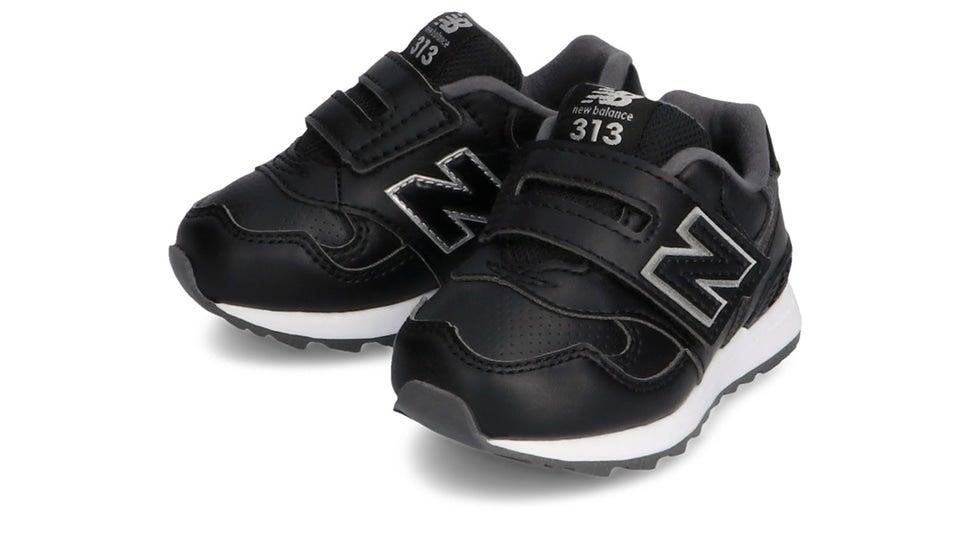 (NB公式)【ログイン購入で最大8%ポイント還元】 キッズ IO313L BK (ブラック) スニーカー シューズ 靴 ニューバランス newbalance