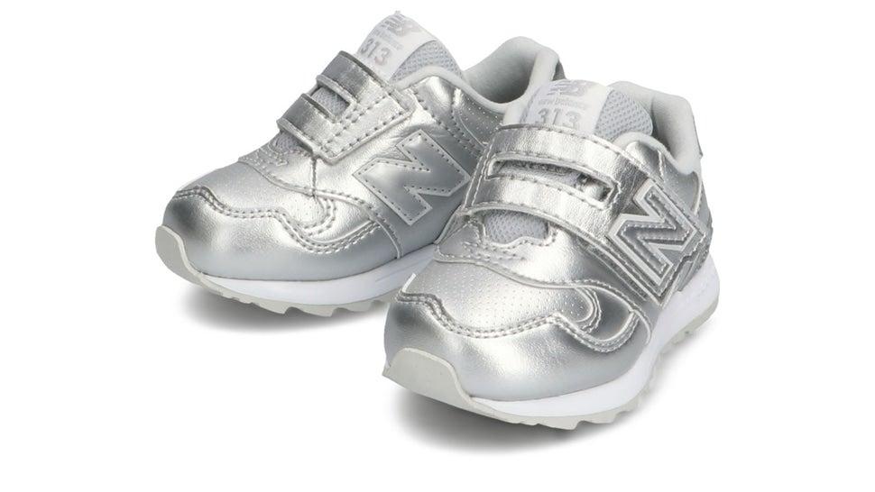 (NB公式)【ログイン購入で最大8%ポイント還元】 キッズ IO313L SV (METALLIC SILVER) スニーカー シューズ 靴 ニューバランス newbalance