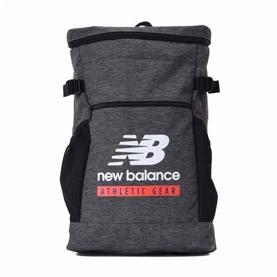 (NB公式)【ログイン購入で最大8%ポイント還元】 ユニセックス NB Essentials Field Day スクエアバッグパック (グレー) バッグ 鞄 ニューバランス newbalance