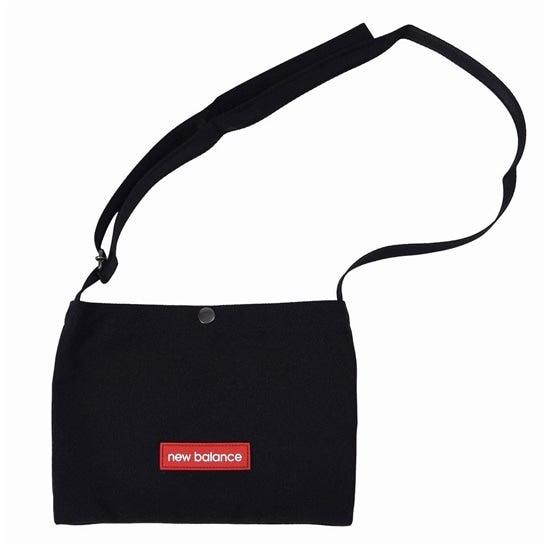 (NB公式)【ログイン購入で最大8%ポイント還元】 ユニセックス キャンバスポシェット (ブラック) バッグ 鞄 ニューバランス newbalance