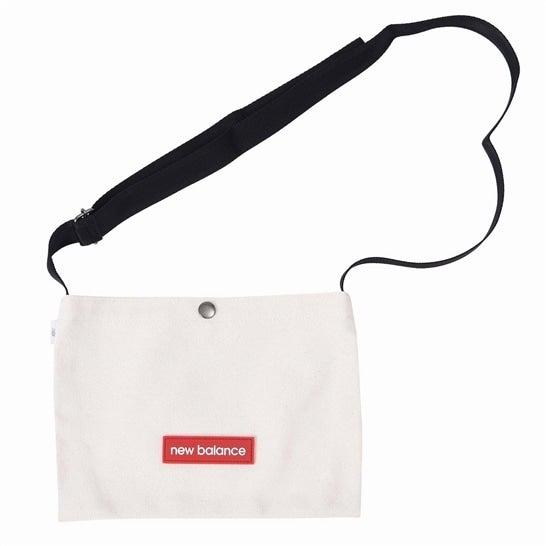 (NB公式)【ログイン購入で最大8%ポイント還元】 ユニセックス キャンバスポシェット (ホワイト) バッグ 鞄 ニューバランス newbalance