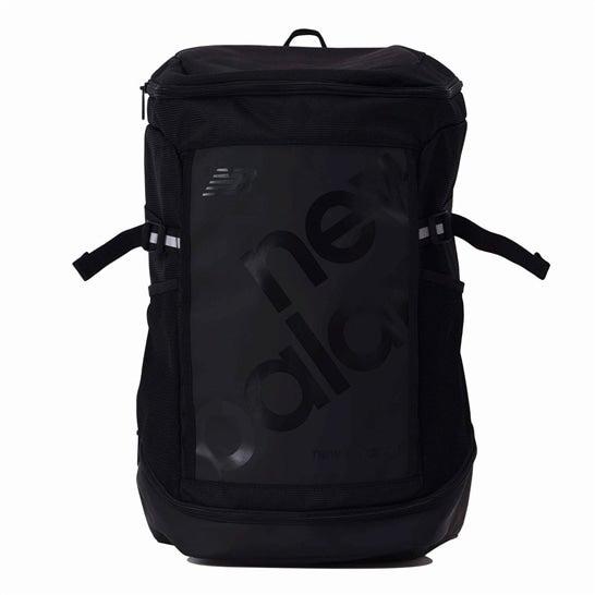 (NB公式)【ログイン購入で最大8%ポイント還元】 ユニセックス トップローディングバックパック 35リットル (ブラック) バッグ 鞄 リュックサック/デイパック ニューバランス newbalance