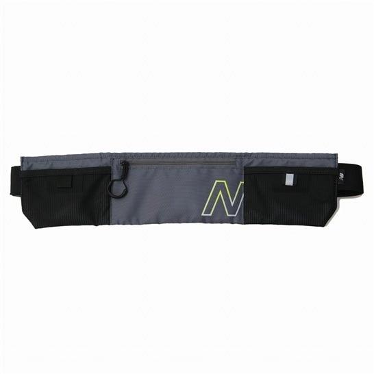(NB公式)【ログイン購入で最大8%ポイント還元】 ユニセックス ランニングウェストポーチ (グレー) バッグ 鞄 ニューバランス newbalance
