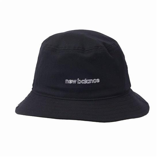 (NB公式)【ログイン購入で最大8%ポイント還元】 ユニセックス バケットハット (ブラック) 帽子 キャップ ハット/グローブ ニューバランス newbalance