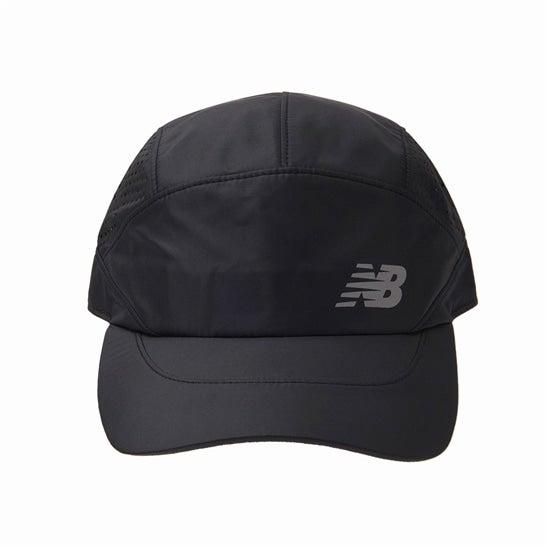 (NB公式)【ログイン購入で最大8%ポイント還元】 メンズ ランニングパンチングメッシュキャップ (ブラック) 帽子 キャップ ハット/グローブ ニューバランス newbalance