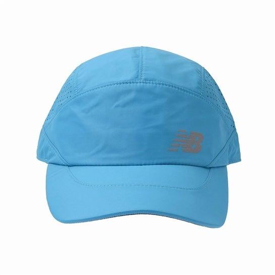 (NB公式)【ログイン購入で最大8%ポイント還元】 メンズ ランニングパンチングメッシュキャップ (VLS バーチャルスカイ) 帽子 キャップ ハット/グローブ ニューバランス newbalance