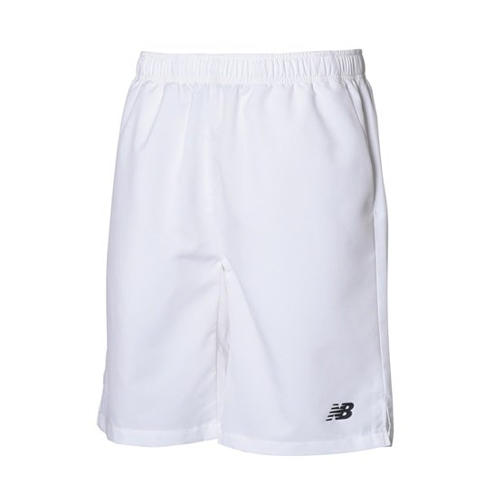 (NB公式)【ログイン購入で最大8%ポイント還元】 メンズ ベーシック9インチショーツ (ホワイト) テニス スポーツウェア / 短パン ハーフパンツ ショートパンツ ニューバランス newbalance