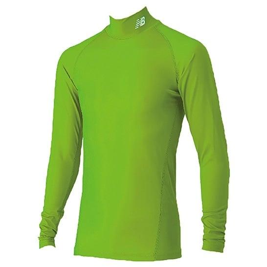 (NB公式)【20%OFF】(ログイン購入で最大8%ポイント還元) メンズ ストレッチインナーシャツ (イエロー) サッカー スポーツウェア / トップス ニューバランス newbalance セール