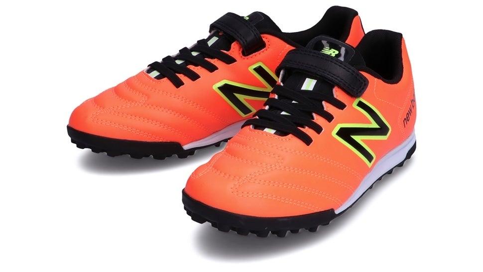 (NB公式)【ログイン購入で最大8%ポイント還元】 キッズ 442 ACADEMY JNR TF CI1 (オレンジ) サッカー トレーニング・ターフシューズ 靴 ニューバランス newbalance