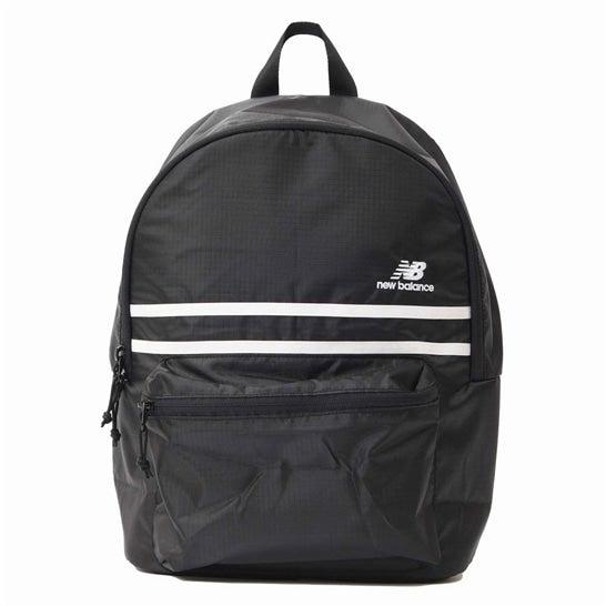 (NB公式)【ログイン購入で最大8%ポイント還元】 ユニセックス エッセンシャルバックパック (ブラック) バッグ 鞄 リュックサック/デイパック ニューバランス newbalance