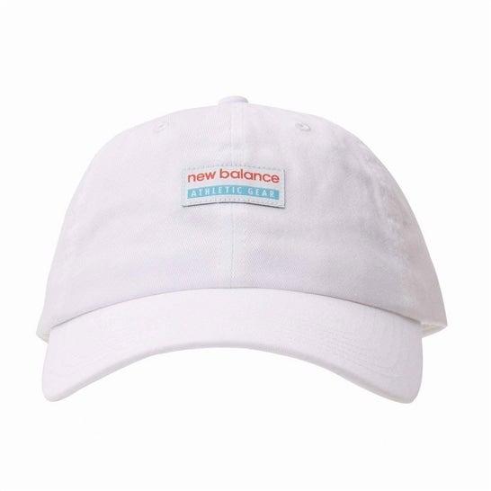 (NB公式)【ログイン購入で最大8%ポイント還元】 ユニセックス NBシーズナルクラシックキャップ (ホワイト) 帽子 キャップ ハット/グローブ ニューバランス newbalance