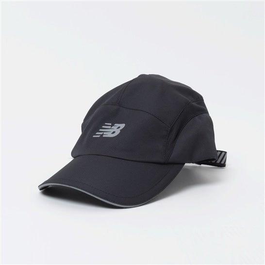 (NB公式)【ログイン購入で最大8%ポイント還元】 ユニセックス 5パネルパフォーマンスキャップ v3 (ブラック) 帽子 キャップ ハット/グローブ ニューバランス newbalance
