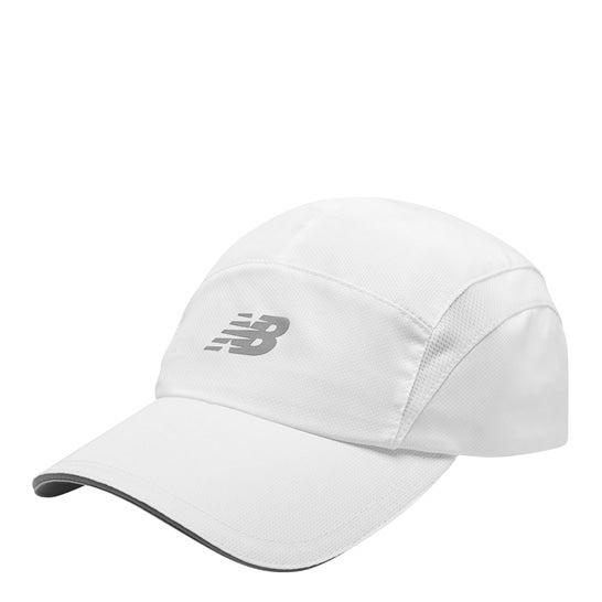(NB公式)【ログイン購入で最大8%ポイント還元】 ユニセックス 5パネルパフォーマンスキャップ v3 (ホワイト) 帽子 キャップ ハット/グローブ ニューバランス newbalance
