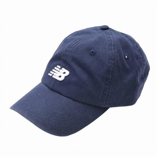 (NB公式)【ログイン購入で最大8%ポイント還元】 ユニセックス 6パネルカーブドブリムNBクラシックキャップ (ブルー) 帽子 キャップ ハット/グローブ ニューバランス newbalance