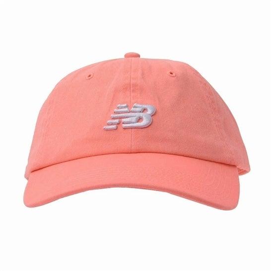 (NB公式)【ログイン購入で最大8%ポイント還元】 ユニセックス 6パネルカーブドブリムNBクラシックキャップ (PPI パラダイスピンク) 帽子 キャップ ハット/グローブ ニューバランス newbalance