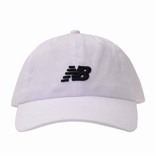 (NB公式)【ログイン購入で最大8%ポイント還元】 ユニセックス 6パネルカーブドブリムNBクラシックキャップ (ホワイト) 帽子 キャップ ハット/グローブ ニューバランス newbalance