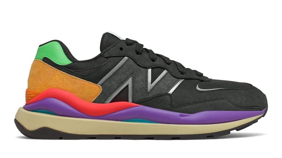 (NB公式)【ログイン購入で最大8%ポイント還元】 メンズ M5740 LB (ブラック) スニーカー シューズ 靴 ニューバランス newbalance