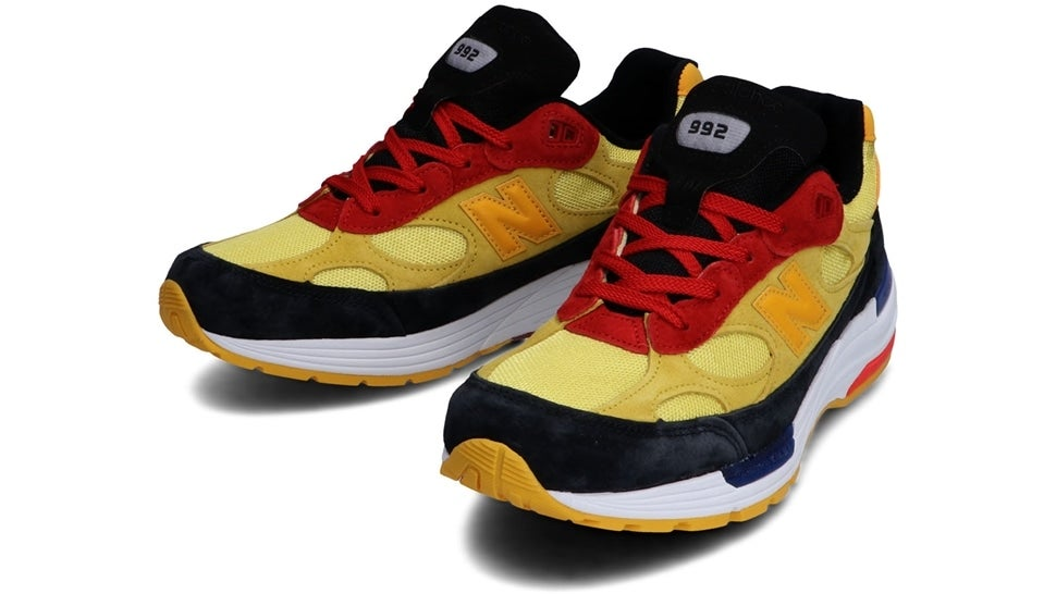 (NB公式)【ログイン購入で最大8%ポイント還元】 ユニセックス M992 DM (イエロー) スニーカー シューズ(Made in USA/UK) 靴 ニューバランス newbalance