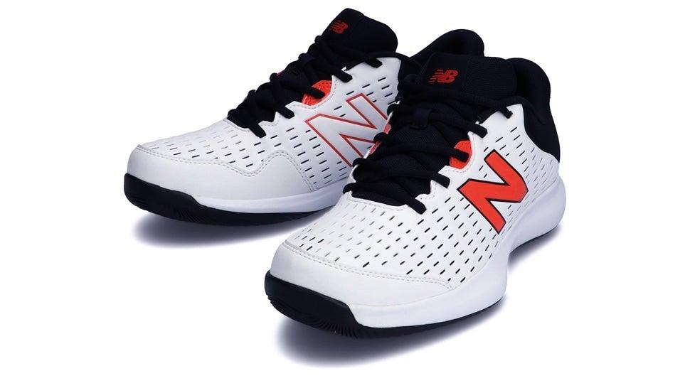 (NB公式)【ログイン購入で最大8%ポイント還元】 メンズ MCH696 I4 (ホワイト) テニス オールコート用シューズ 靴 ニューバランス newbalance