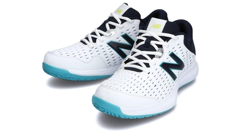 (NB公式)【ログイン購入で最大8%ポイント還元】 メンズ MCO696 A4 (ホワイト) テニス オムニ・クレーコート用シューズ 靴 ニューバランス newbalance