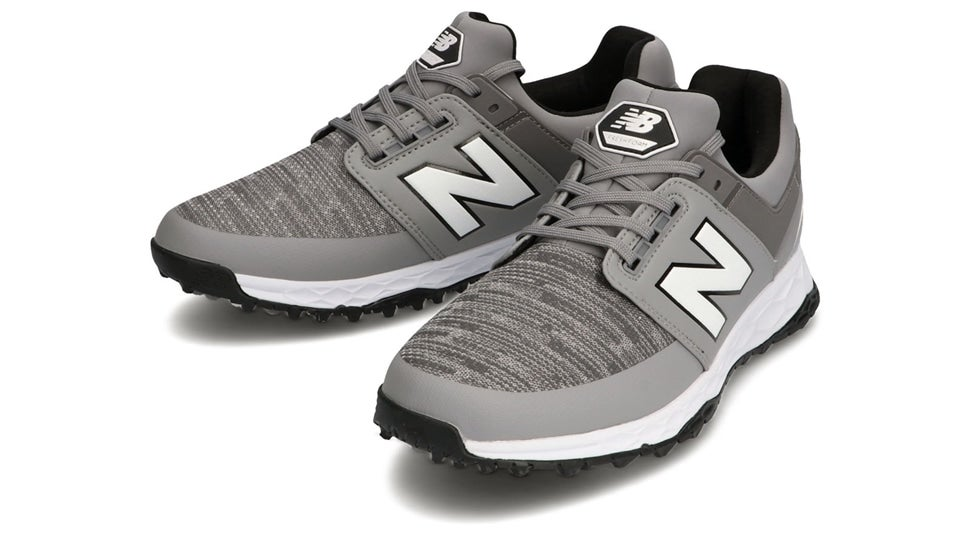 (NB公式)【ログイン購入で最大8%ポイント還元】 メンズ MG4100 GR (グレー) ゴルフ スパイクレス シューズ 靴 ニューバランス newbalance