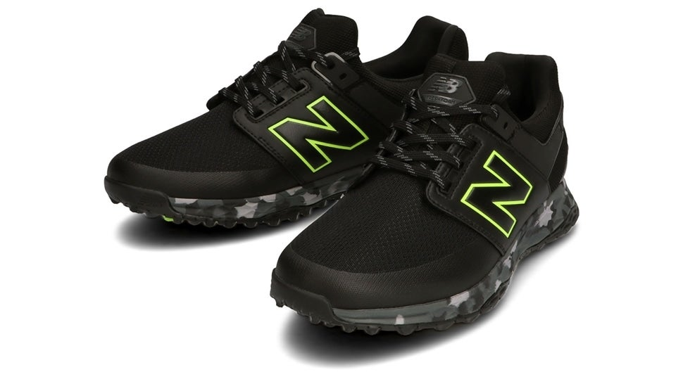 (NB公式)【ログイン購入で最大8%ポイント還元】 メンズ FRESH FOAM 4100 M JB (ブラック) ゴルフ スパイクレス シューズ 靴 ニューバランス newbalance