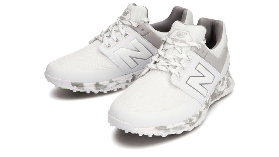 (NB公式)【ログイン購入で最大8%ポイント還元】 メンズ FRESH FOAM 4100 M JW (ホワイト) ゴルフ スパイクレス シューズ 靴 ニューバランス newbalance