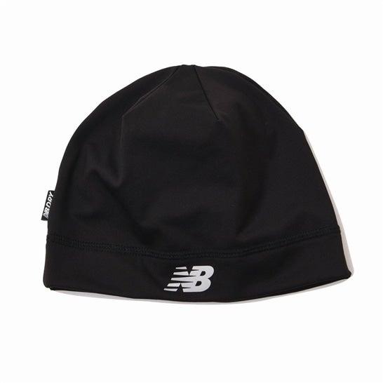 (NB公式)【ログイン購入で最大8%ポイント還元】 ユニセックス ランニングビーニー (ブラック) 帽子 キャップ ハット/グローブ ニューバランス newbalance