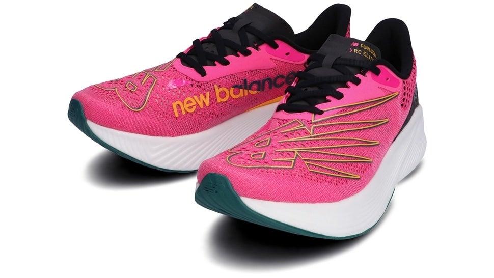 (NB公式)【ログイン購入で最大8%ポイント還元】 メンズ FuelCell RC ELITE M PB2 (ピンク) ランニングシューズ 靴 ニューバランス newbalance