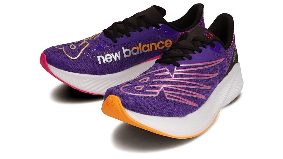 (NB公式)【ログイン購入で最大8%ポイント還元】 メンズ FuelCell RC ELITE M VB2 (パープル) ランニングシューズ 靴 ニューバランス newbalance