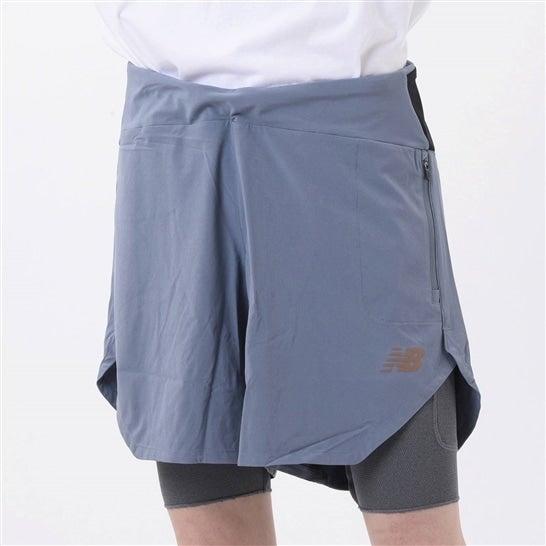 (NB公式)【40%OFF】(ログイン購入で最大8%ポイント還元) メンズ PMV ポータブルショーツ (グレー) ランニング スポーツウェア / 短パン ハーフパンツ ショートパンツ ランパン ニューバランス newbalance セール