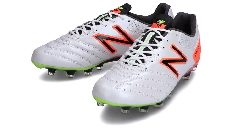 (NB公式)【ログイン購入で最大8%ポイント還元】 ユニセックス 442 PRO HG WC1 (ホワイト) サッカーシューズ スパイク 靴 ニューバランス newbalance