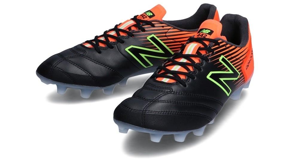 (NB公式)【ログイン購入で最大8%ポイント還元】 ユニセックス 442 SP HG OS1 (ブラック) サッカーシューズ スパイク 靴 ニューバランス newbalance