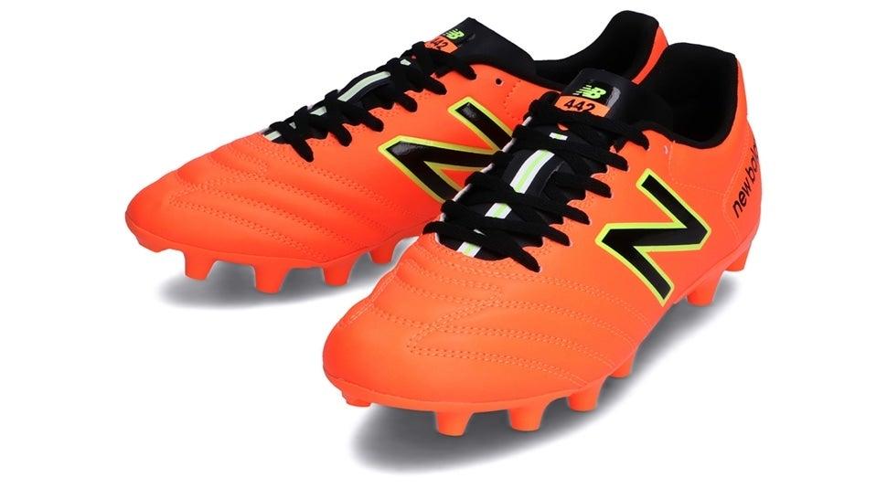 (NB公式)【ログイン購入で最大8%ポイント還元】 メンズ 442 ACADEMY HG CI1 (オレンジ) サッカーシューズ スパイク 靴 ニューバランス newbalance