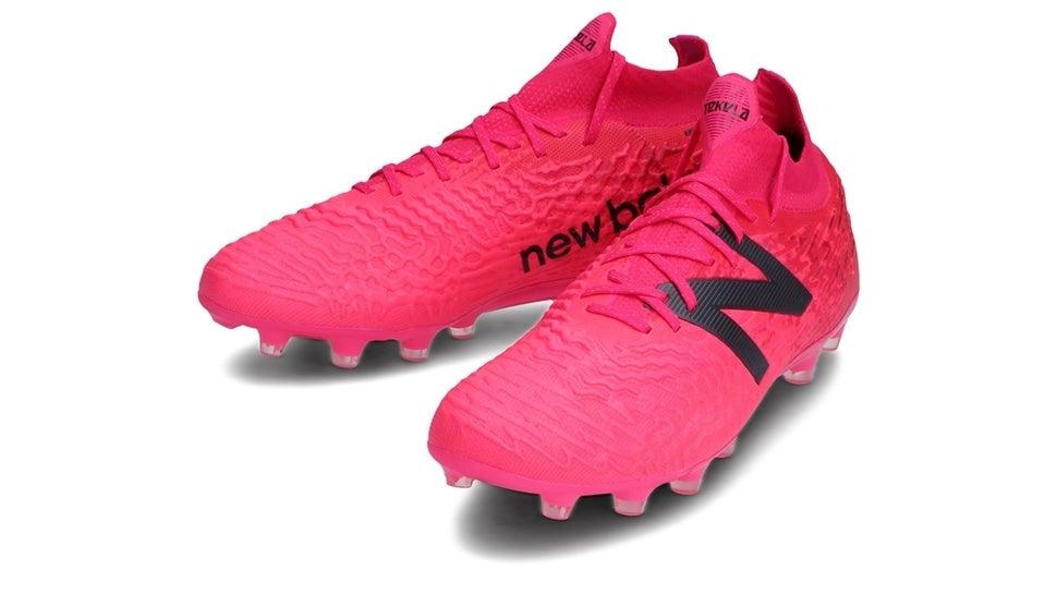 (NB公式)【ログイン購入で最大8%ポイント還元】 メンズ TEKELA v3+ PRO HG Y35 (ピンク) サッカーシューズ スパイク 靴 ニューバランス newbalance