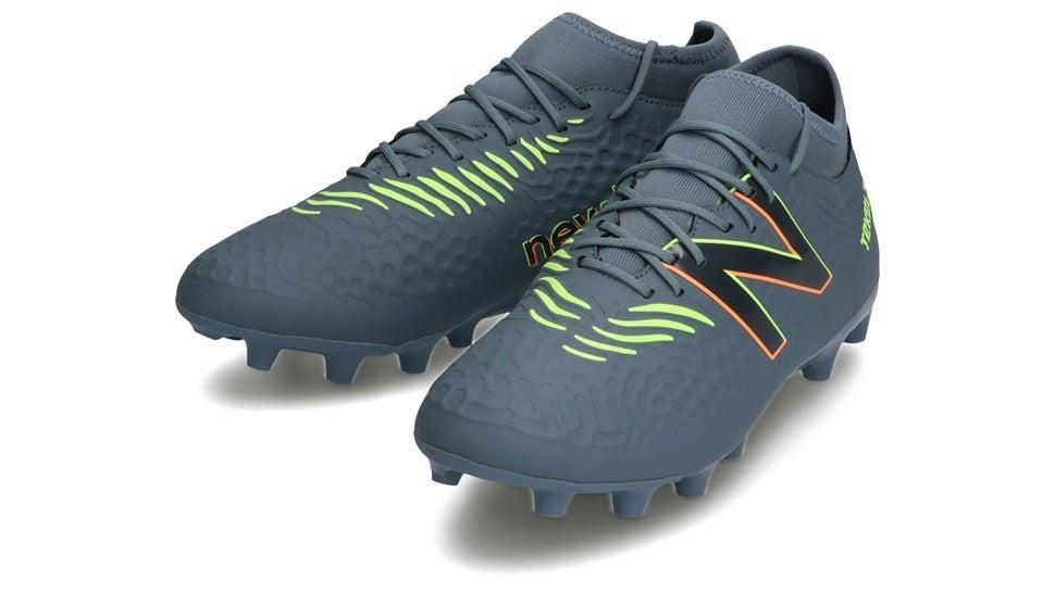 (NB公式)【ログイン購入で最大8%ポイント還元】 メンズ TEKELA MAGIQUE HG SG3 (グレー) サッカーシューズ スパイク 靴 ニューバランス newbalance