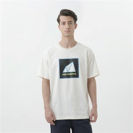 (NB公式)【ログイン購入で最大8%ポイント還元】 ユニセックス NB All Terrain グラフィックTシャツ (グレー) ライフスタイル ウェア / トップス ニューバランス newbalance