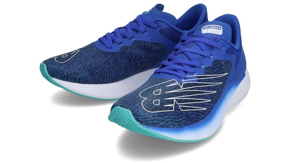 (NB公式)【ログイン購入で最大8%ポイント還元】 メンズ VIAZA M LB1 (ブルー) ランニングシューズ フィットネス 靴 ニューバランス newbalance