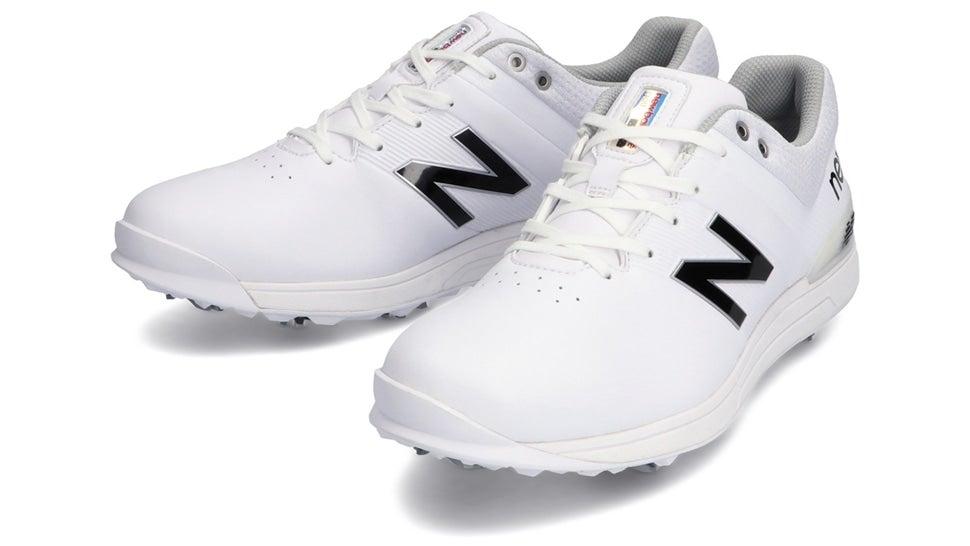 (NB公式)【ログイン購入で最大8%ポイント還元】 ユニセックス UG2500 W2 (ホワイト) ゴルフ スパイク シューズ 靴 ニューバランス newbalance