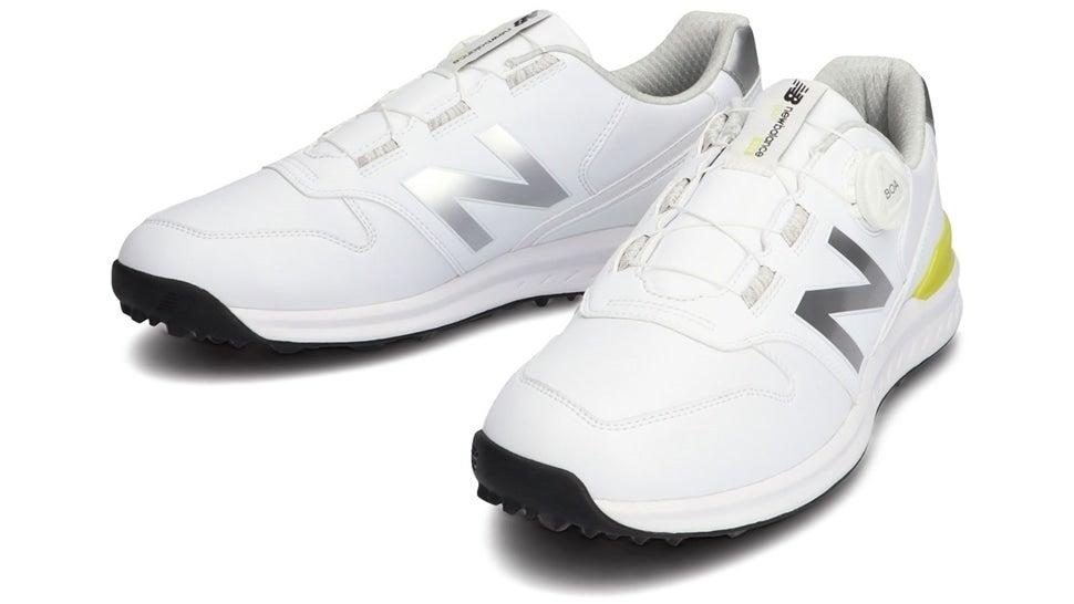 (NB公式)【ログイン購入で最大8%ポイント還元】 ユニセックス UGBS996 W (ホワイト) ゴルフ スパイクレス シューズ 靴 ニューバランス newbalance