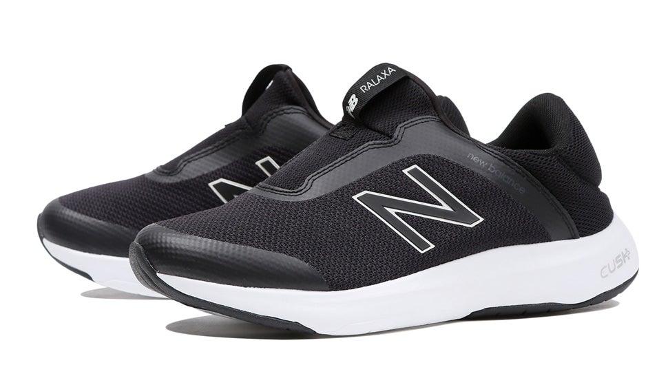 (NB公式)【30%OFF】(ログイン購入で最大8%ポイント還元) ウイメンズ RALAXA SLIP ON W B1 (ブラック) ウォーキングシューズ 靴 ニューバランス newbalance セール