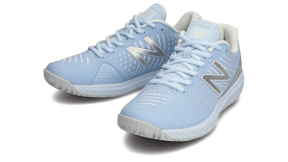 (NB公式)【ログイン購入で最大8%ポイント還元】 ウイメンズ WCH796 B2 (ブルー) テニス オールコート用シューズ 靴 ニューバランス newbalance