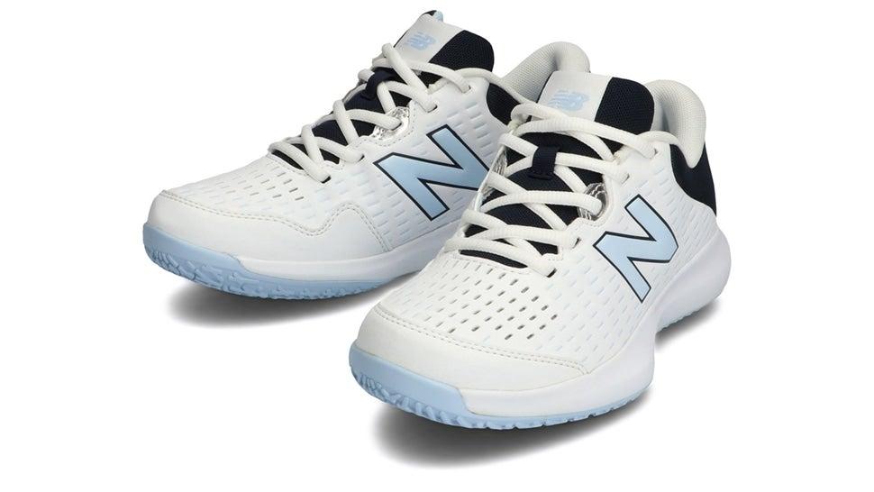 (NB公式)【ログイン購入で最大8%ポイント還元】 ウイメンズ WCO696 U4 (ホワイト) テニス オムニ・クレーコート用シューズ 靴 ニューバランス newbalance